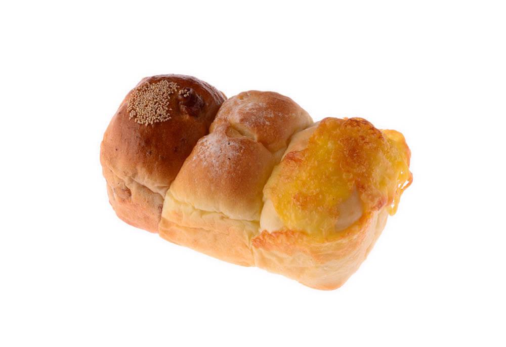 三宿三色パン